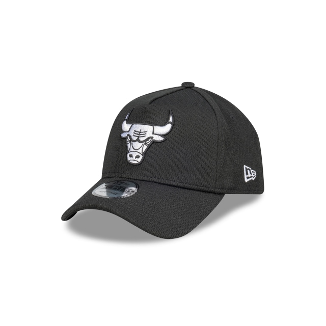 Chicago Bulls Black Mesh 9forty A-frame | New Era Cap