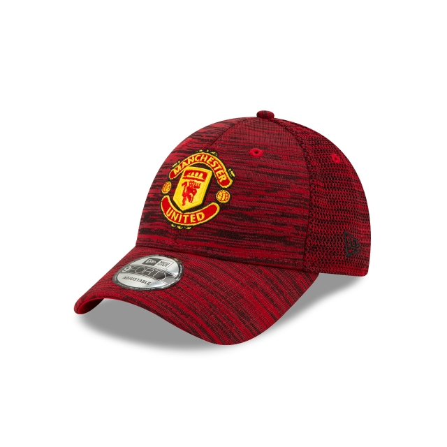 Manchester United Scarlet Black Engineered 9forty | New Era Cap