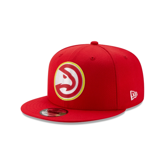 Atlanta Hawks NBA Authentics Back HaLF Series 9FIFTY Snapback | Atlanta Hawks Hats | New Era Cap