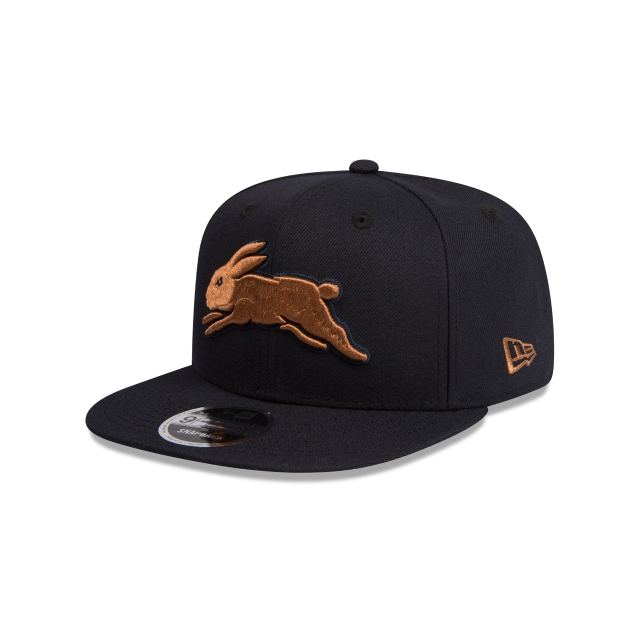South Sydney Rabbitohs Original Fit Navy And Wheat 9fifty Snapback | New Era Cap