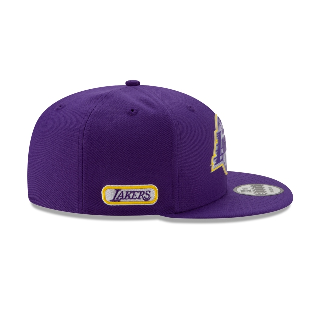 Los Angleles Lakers NBA Authentics Back HaLF Series 9FIFTY Snapback | Los Angeles Lakers Hats | New Era Cap