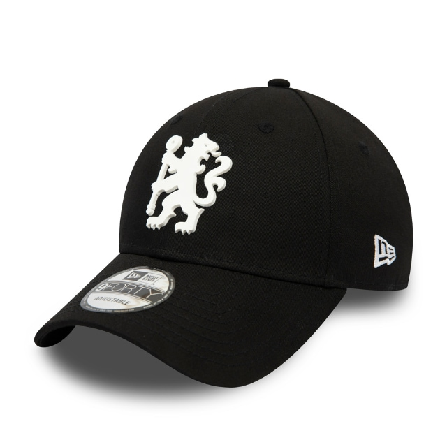 Chelsea Fc Crest Black 9forty | New Era Cap