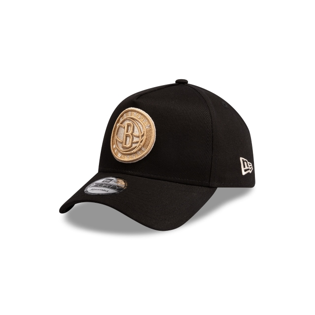 Brooklyn Nets Black And Stone 9forty A Frame | New Era Cap