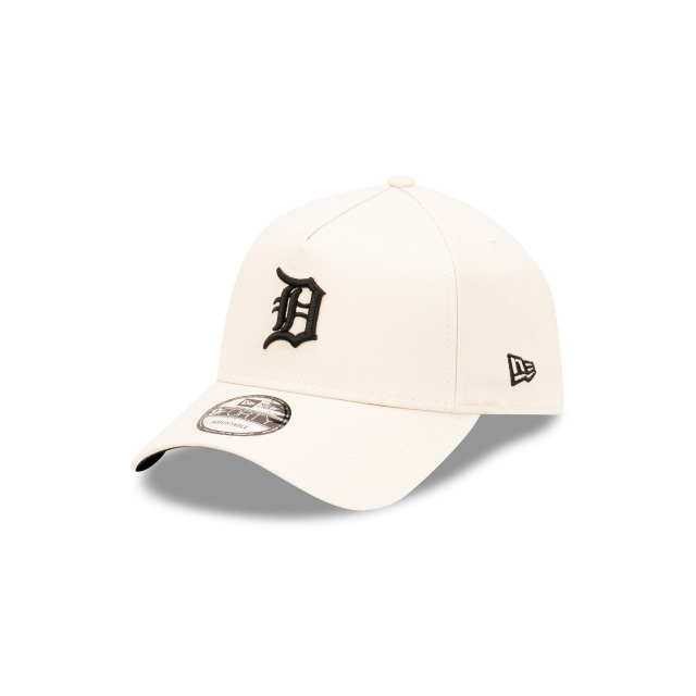 Detroit Tigers Stone And Black 9FORTY A-frame Snapback | Detroit Tigers Hats | New Era Cap