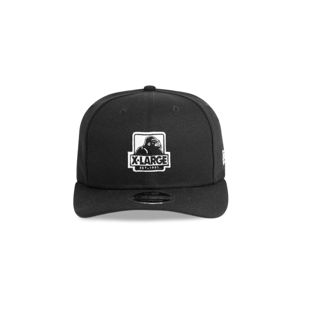 X-large Black 9FIFTY Original Fit Pre-curved Snapback | X-large Hats | New Era Cap