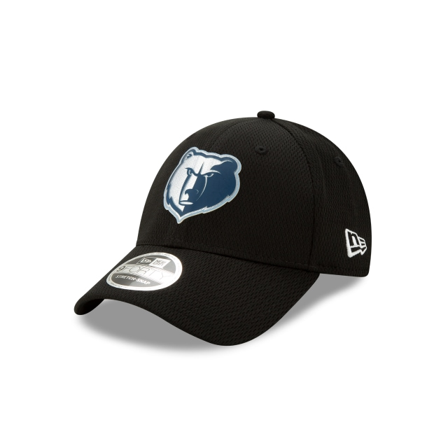 Memphis Grizzlies Nba Authentics Back Half Series Black Stretch Snap 9forty | New Era Cap