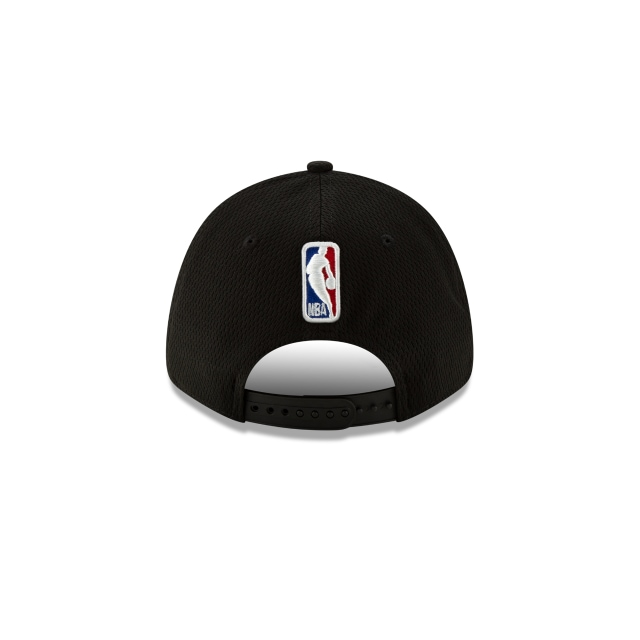 Utah Jazz NBA Authentics Back HaLF Series Black Stretch Snap 9FORTY | Utah Jazz Hats | New Era Cap