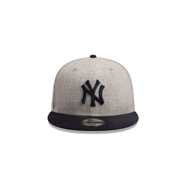 New York Yankees Heather Grey Navy Youth 9FIFTY | New York Yankees Hats | New Era Cap