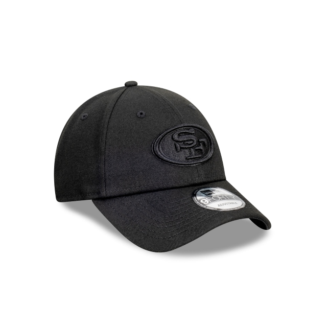 San Francisco 49ers Black On Black 9FORTY | San Francisco 49ers Hats | New Era Cap