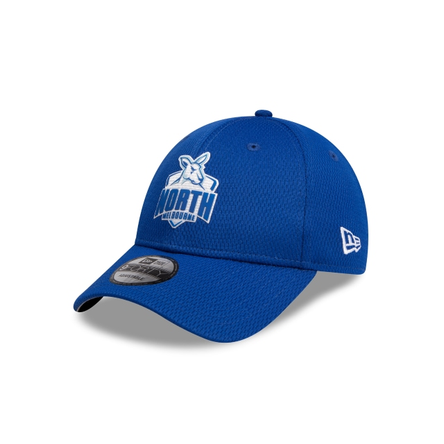 North Melbourne Kangaroos Blue Mesh 9forty Snapback | New Era Cap
