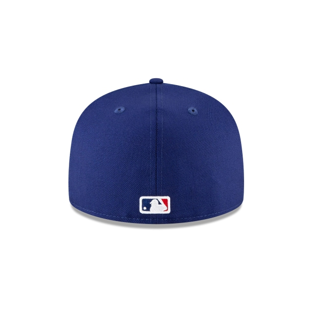 Los Angeles Dodgers Pink Undervisor 59FIFTY Fitted | Los Angeles Dodgers Hats | New Era Cap