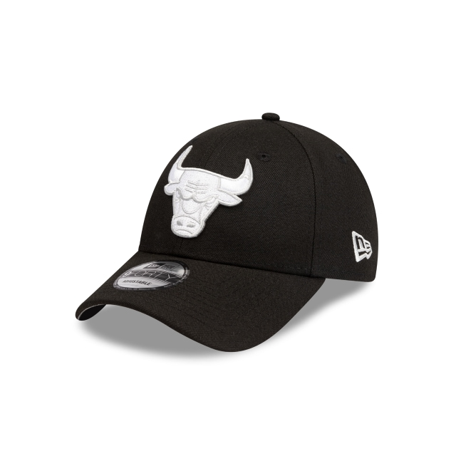 Chicago Bulls Black And Grey 9FORTY Snapback | Chicago Bulls Hats | New Era Cap