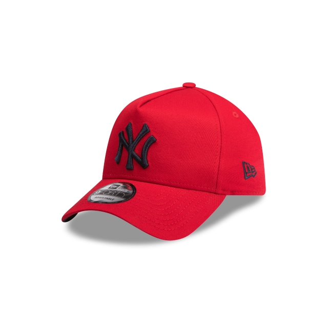 New York Yankees Scarlet Navy 9forty A-frame | New Era Cap