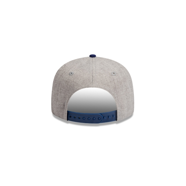 Los Angeles Dodgers Heather Grey Dark Royal Youth 9fifty | Los Angeles Dodgers Baseball Caps | New Era Cap