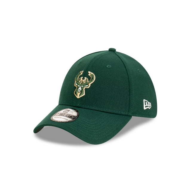 Milwaukee Bucks Official Team Colours 39THIRTY | Milwaukee Bucks Hats | New Era Cap