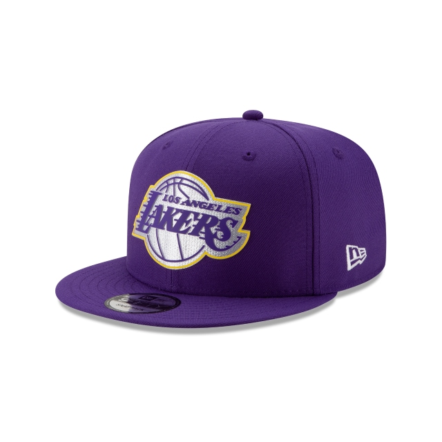 Los Angleles Lakers Nba Authentics Back Half Series 9fifty Snapback | New Era Cap