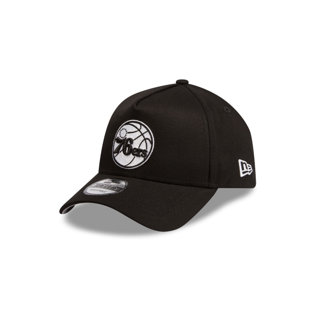 Philadelphia 76ers Black Grey 9forty A-frame | New Era Cap