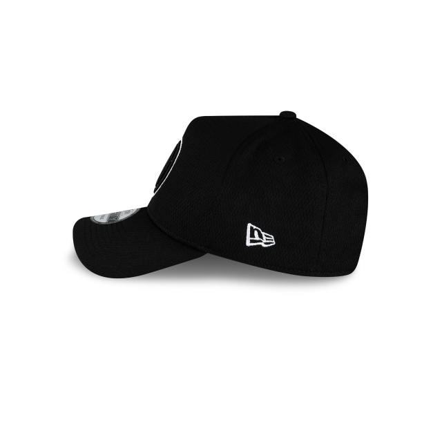 Brooklyn Nets Black Mesh 9FORTY A-frame | Brooklyn Nets Hats | New Era Cap