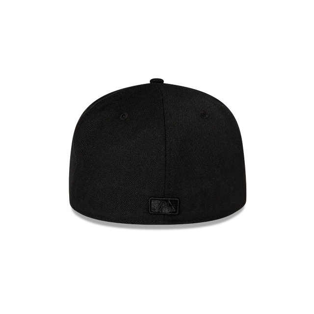 New York Yankees Black On Black 59fifty Fitted | New York Yankees Baseball Caps | New Era Cap