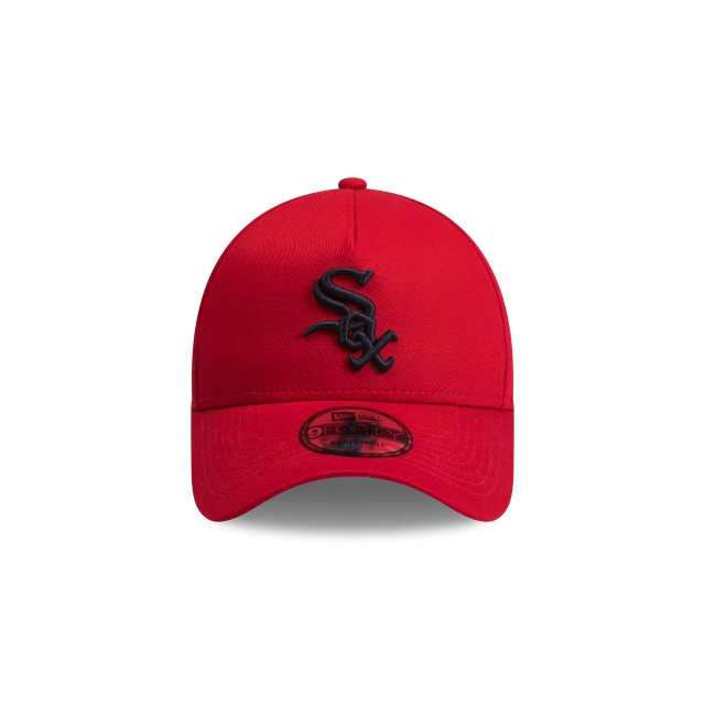 Chicago White Sox Scarlet Navy 9forty A-frame | Chicago White Sox Baseball Caps | New Era Cap
