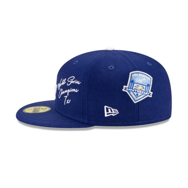 Los Angeles Dodgers Icons 2.0 Official Team Colours 59FIFTY Fitted | Los Angeles Dodgers Hats | New Era Cap