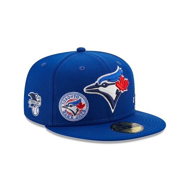 Toronto Blue Jays Multi Patch Official Team Colours 59FIFTY Fitted | Toronto Blue Jays Hats | New Era Cap