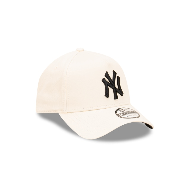 New York Yankes Stone And Black 9FORTY A-frame Snapback | New York Yankees Hats | New Era Cap