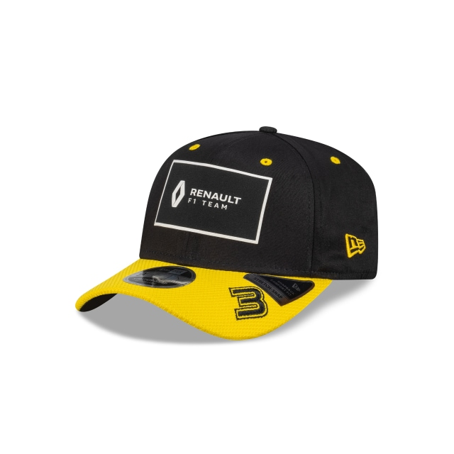 Ricciardo Renault F1 Black 9FIFTY Stretch Snapback | Renault Hats | New Era Cap