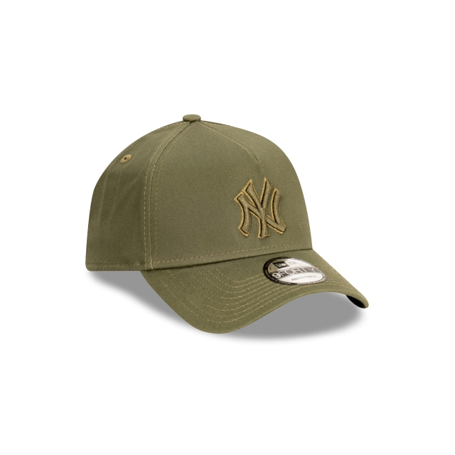 New York Yankees Tonal Detailing Khaki 9FORTY A-frame | New York Yankees Hats | New Era Cap