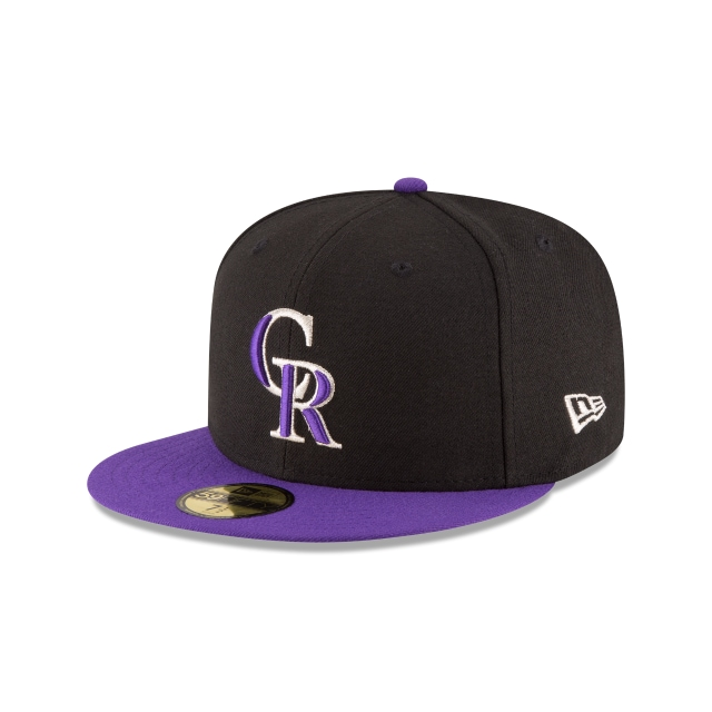 Colorado Rockies Authentic Collection Alternate 59FIFTY Fitted | Colorado Rockies Hats | New Era Cap