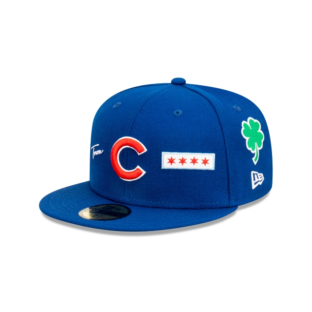 Chicago Cubs World Series City Collection Official Team Colours 59FIFTY Fitted | Chicago Cubs Hats | New Era Cap