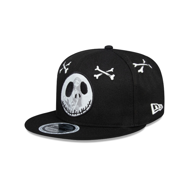 Jack Skellington The Nightmare Before Christmas Black 9FIFTY | The Nightmare Before Christmas Hats | New Era Cap