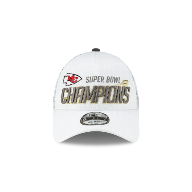 Kansas City Chiefs Super Bowl Champions Locker Room 9FORTY | Kansas City Chiefs Hats | New Era Cap