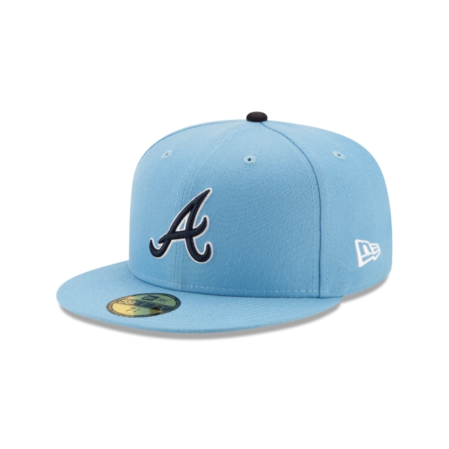 Offset X Atlanta Braves Blue 59FIFTY Fitted | Atlanta Braves Hats | New Era Cap