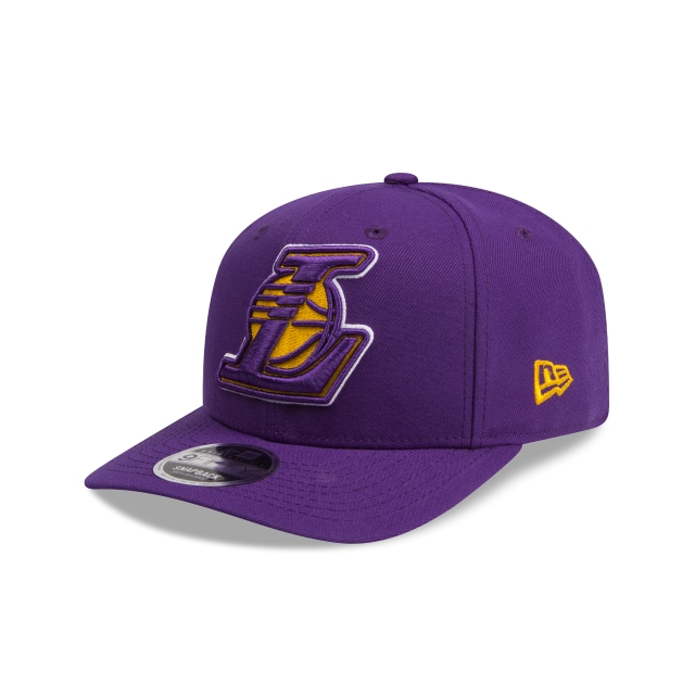 Los Angeles Lakers Purple 9fifty Original Fit Pre-curved Snapback | New Era Cap