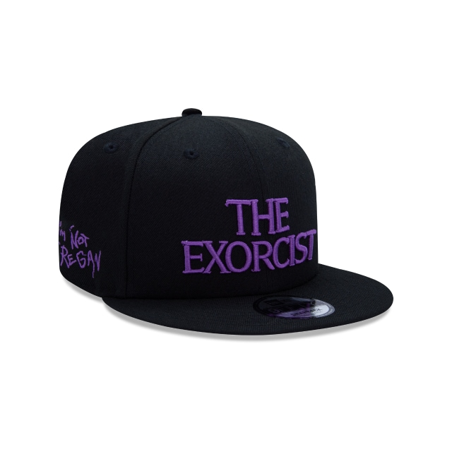 The Exorcist Black 9FIFTY Snapback | Horror Collection Hats | New Era Cap