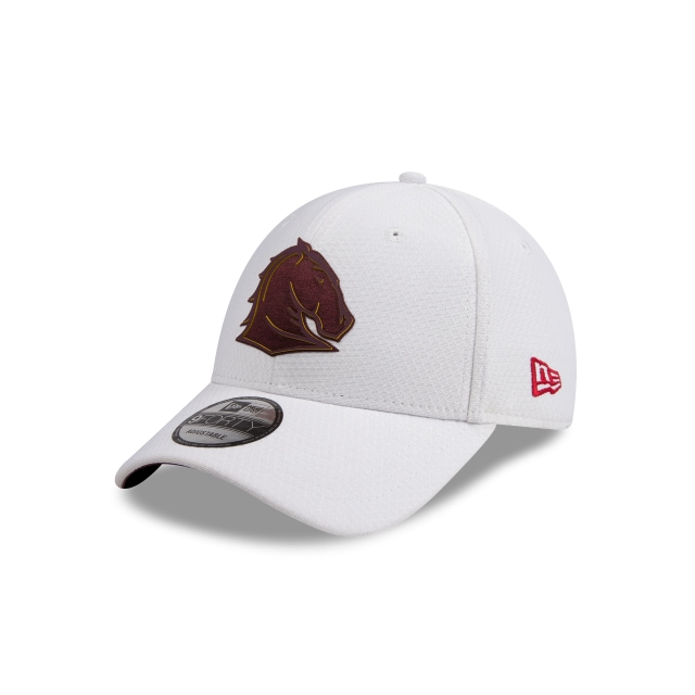 Brisbane Broncos White 9FORTY Snapback | Brisbane Broncos Hats | New Era Cap