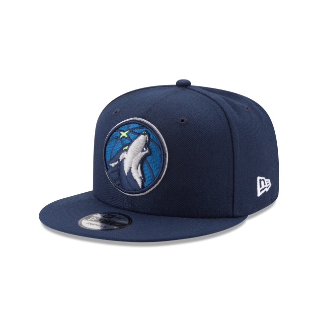 Minnesota Timberwolves Official Team Colour 9FIFTY Snapback | Minnesota Timberwolves Hats | New Era Cap