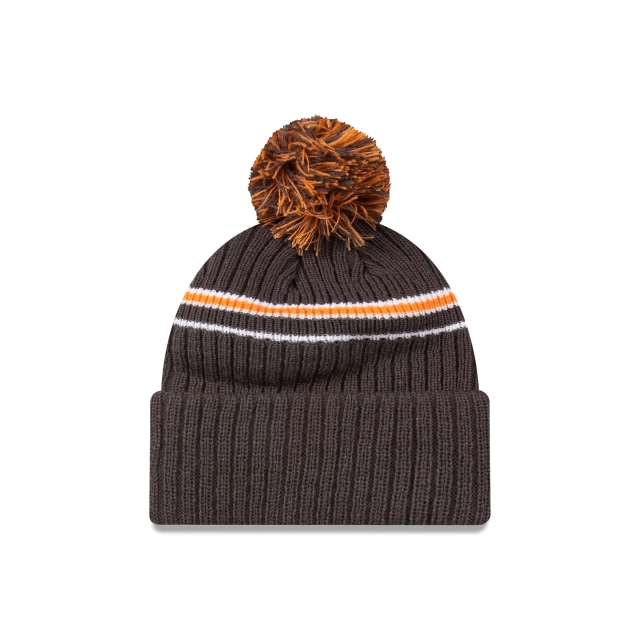 Gws Giants Graphite Cuff Knit With Stripe Beanie | Greater Western Sydney Giants Hats | New Era Cap