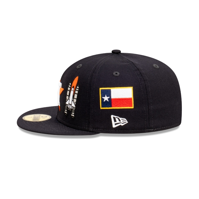 Houston Astros World Series City Collection Official Team Colours 59FIFTY Fitted | Houston Astros Hats | New Era Cap