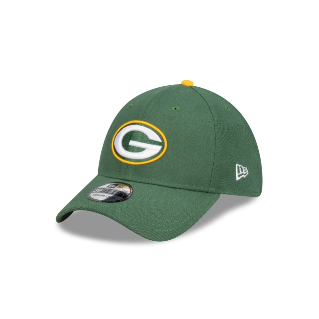Green Bay Packers Team Colour 39THIRTY | Green Bay Packers Hats | New Era Cap