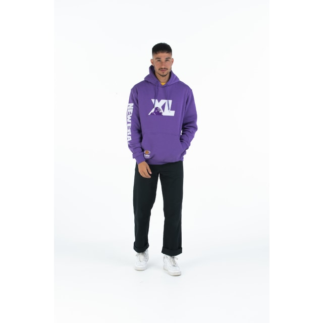 Xlarge X New Era X NBA Los Angeles Lakers Purple Hoodie | Xlarge X New Era X NBA | New Era Cap