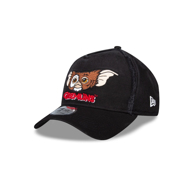 Gizmo Gremlins Collection Black 9FORTY A-frame | Gremlins Collection Hats | New Era Cap