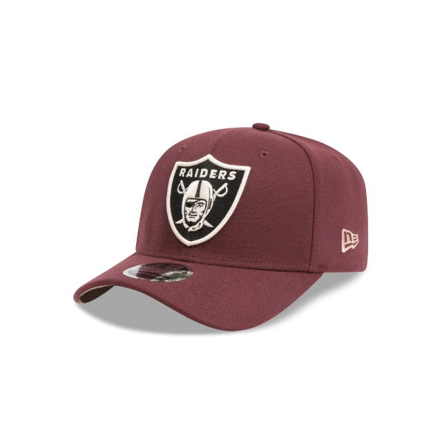 Oakland Raiders Maroon 9FIFTY Stretch Snapback | Las Vegas Raiders Hats | New Era Cap