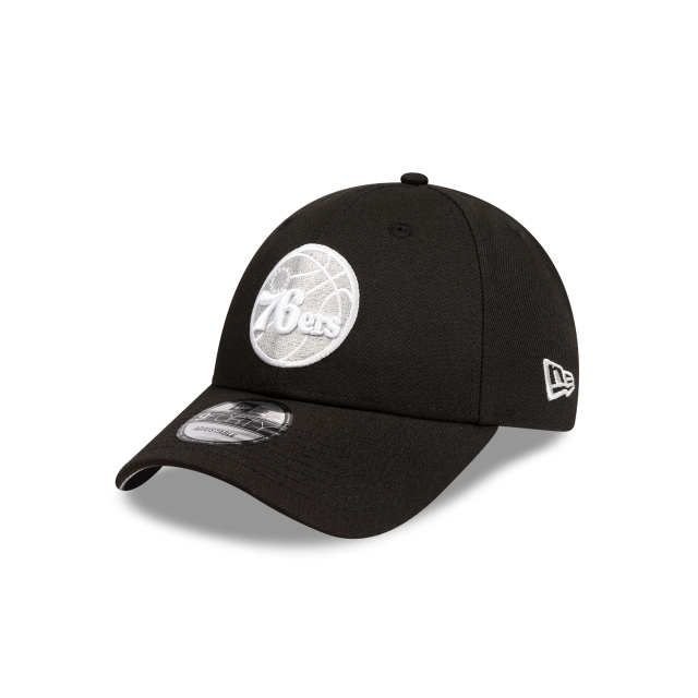 Philadelphia 76ers Black And Grey 9forty Snapback | New Era Cap