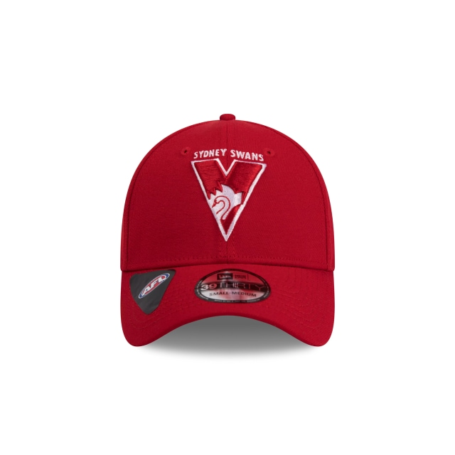Sydney Swans Official Team Colour 39THIRTY | Sydney Swans Hats | New Era Cap