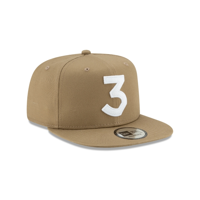 Chance The Rapper 3 Khaki High Crown 9fifty | Action Marketing Caps | New Era Cap
