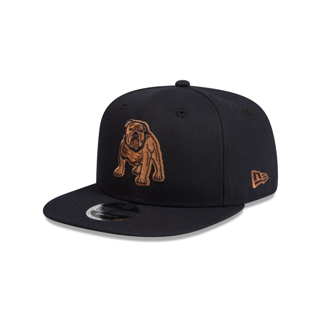 Canterbury-bankstown Bulldogs Original Fit Navy And Wheat 9fifty Snapback | New Era Cap