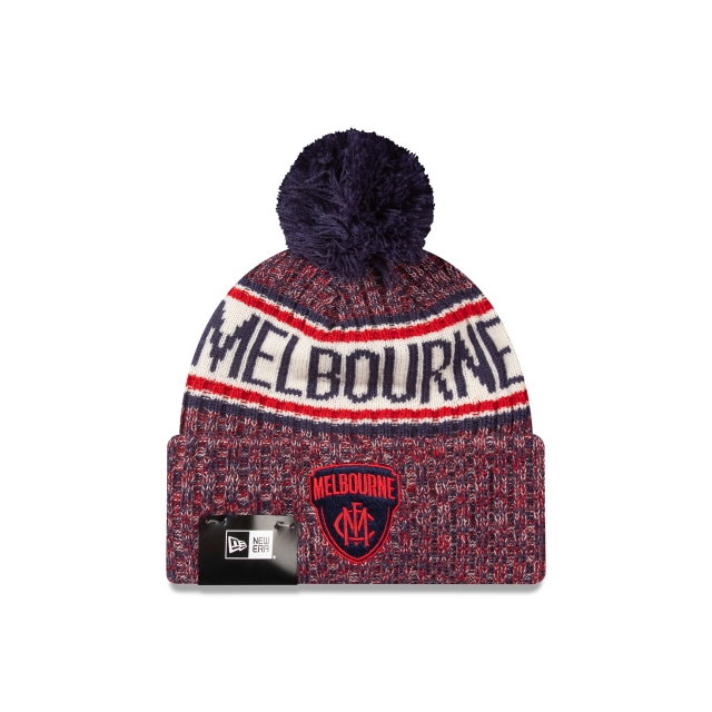 Melbourne Demons Authentic Team Cuff Knit Beanie | Melbourne Demons Hats | New Era Cap