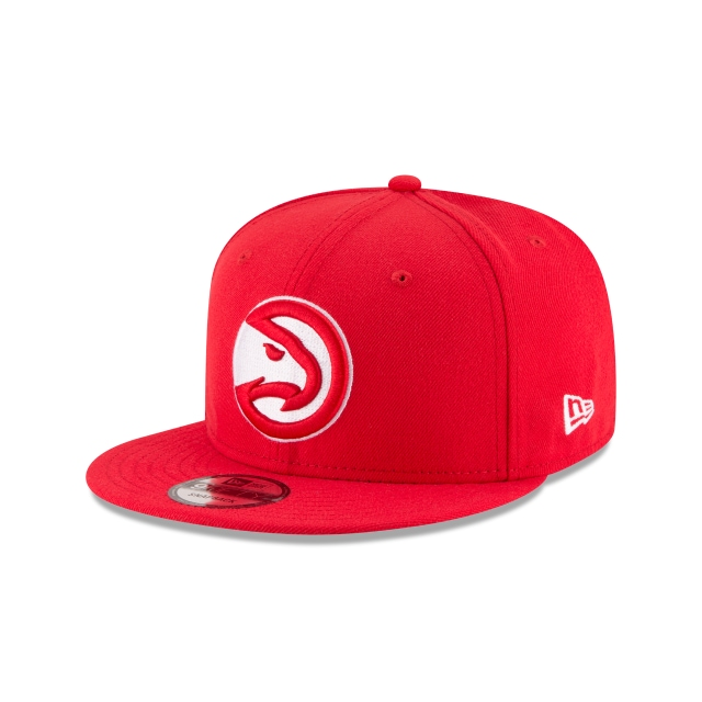 Atlanta Hawks Official Team Colour 9FIFTY Snapback | Atlanta Hawks Hats | New Era Cap